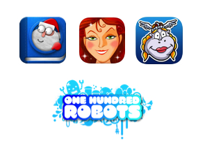One Hundred Robots Night Before Christmas, Cinderella, Hildegard Sings