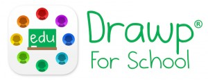Drawp for School logo horiz med